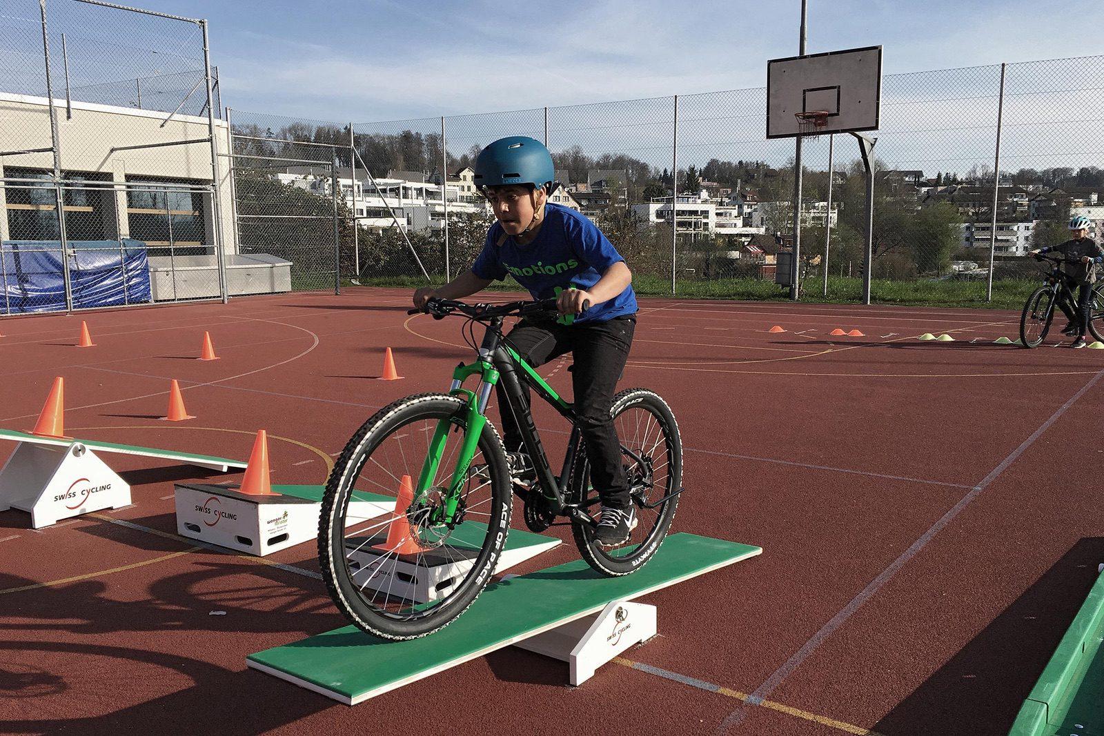 Schule+Velo vermittelt Spass am Velofahren