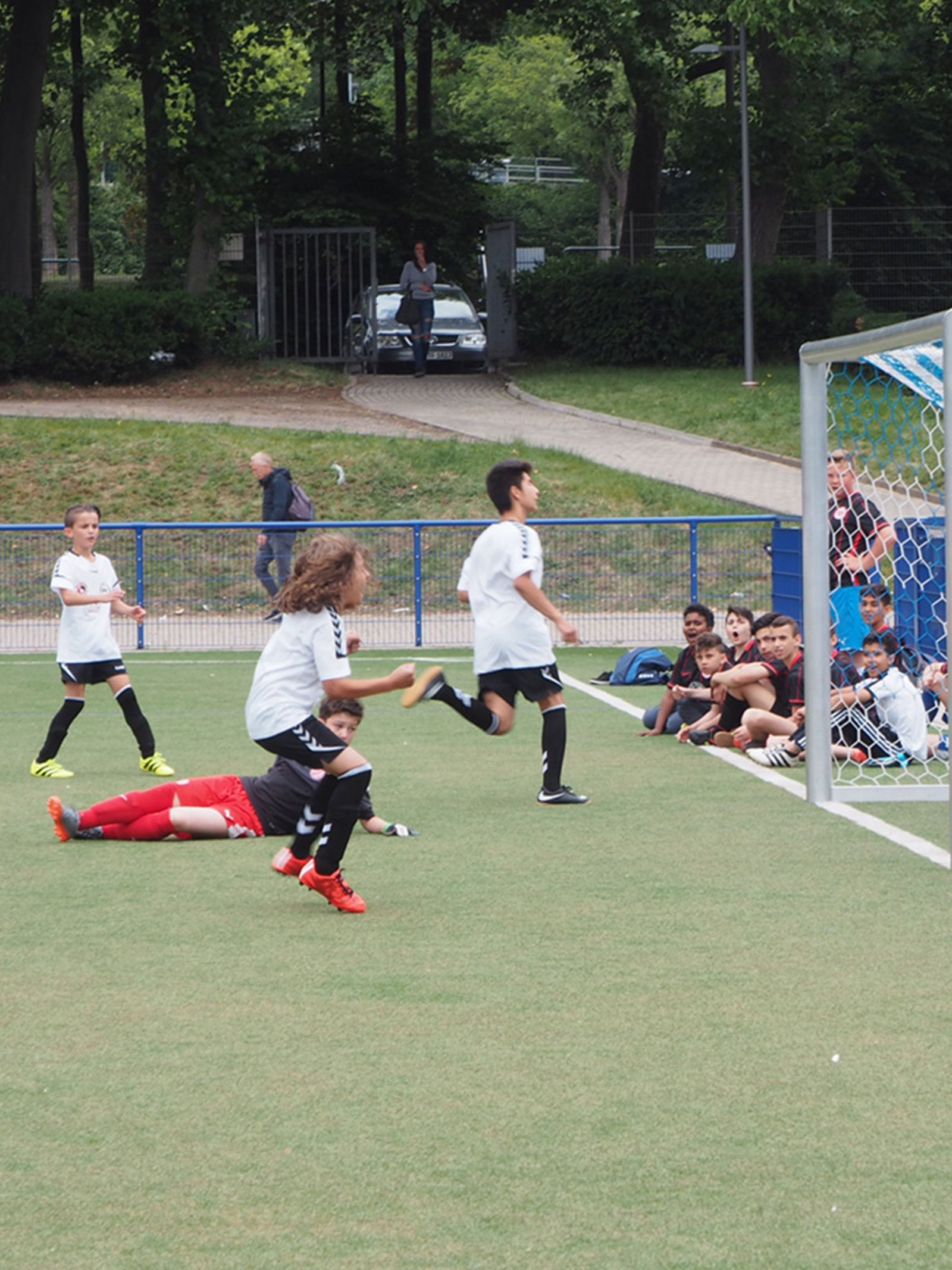 Fußballtraining steigert die Motivation