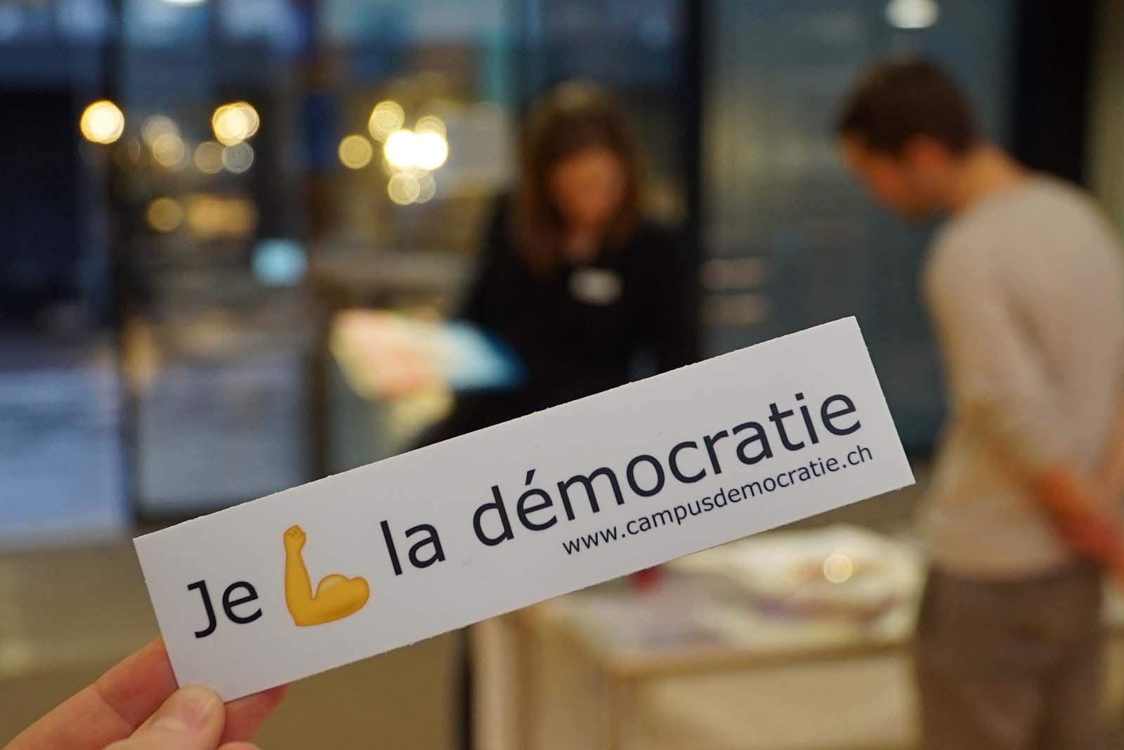 Projekt Campus für Demokratie: Gemeinsame Identität in der Schweiz schaffen