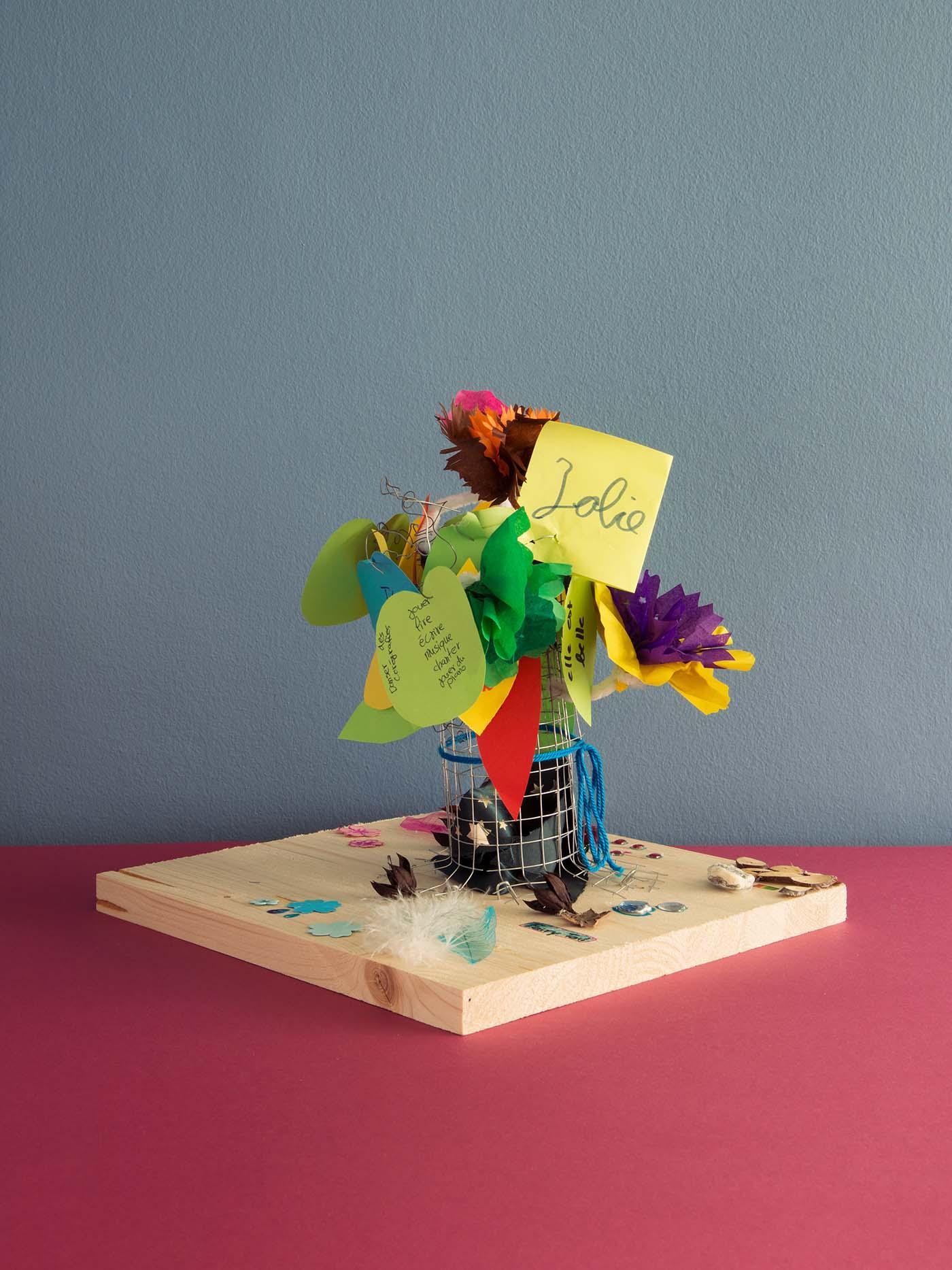 Metaphorischer Baum als Symbol der eigenen Ressourcen