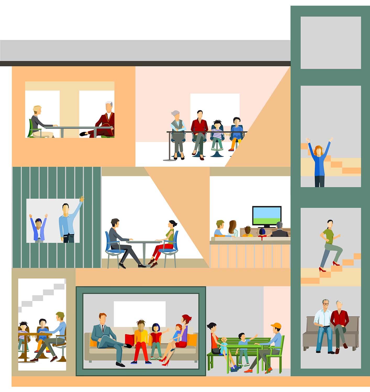 Projektfoto ETH Wohnforum Generationenwohnen
