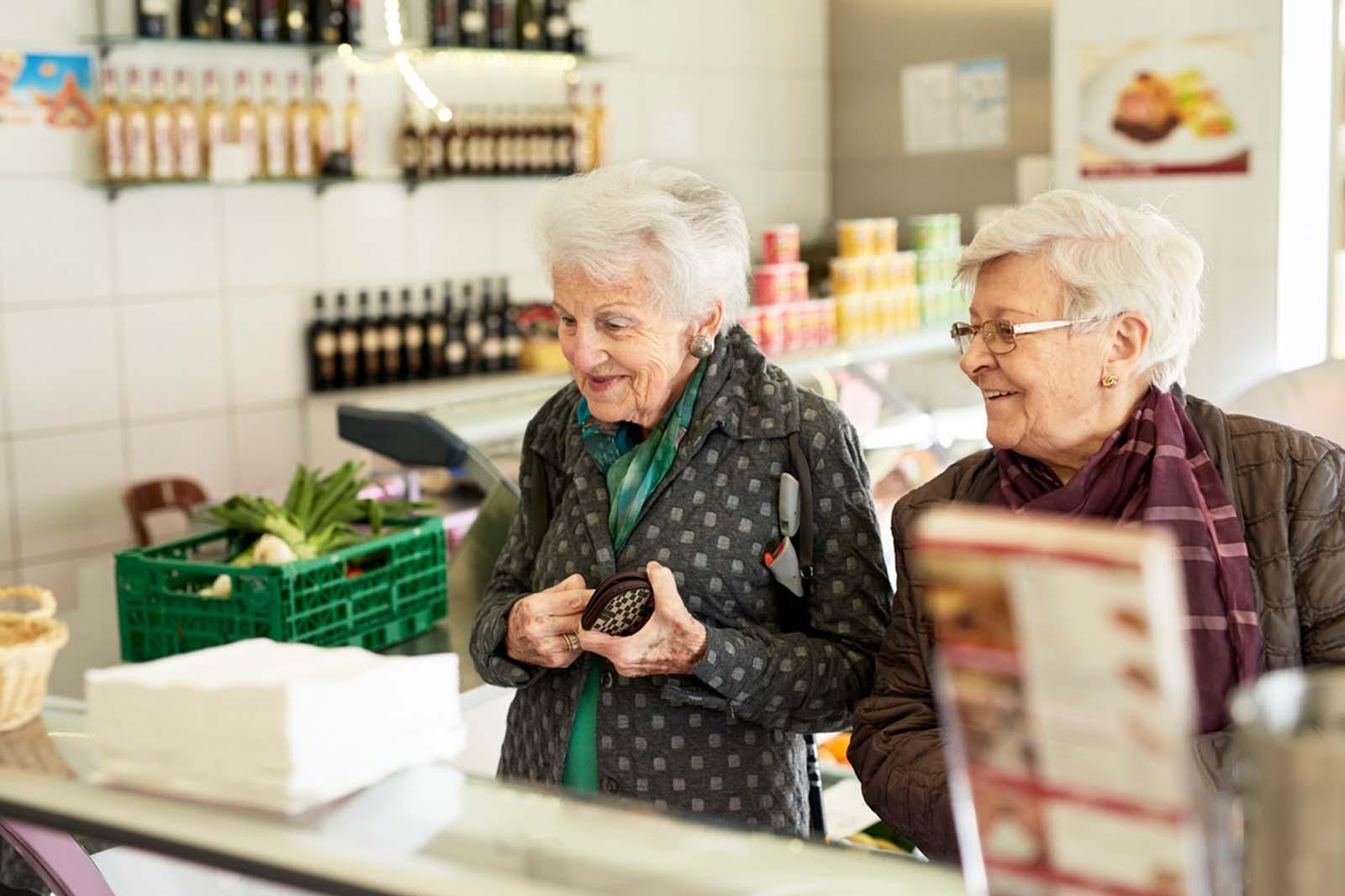 Gemeinsam gesunde Lebensmittel einkaufen