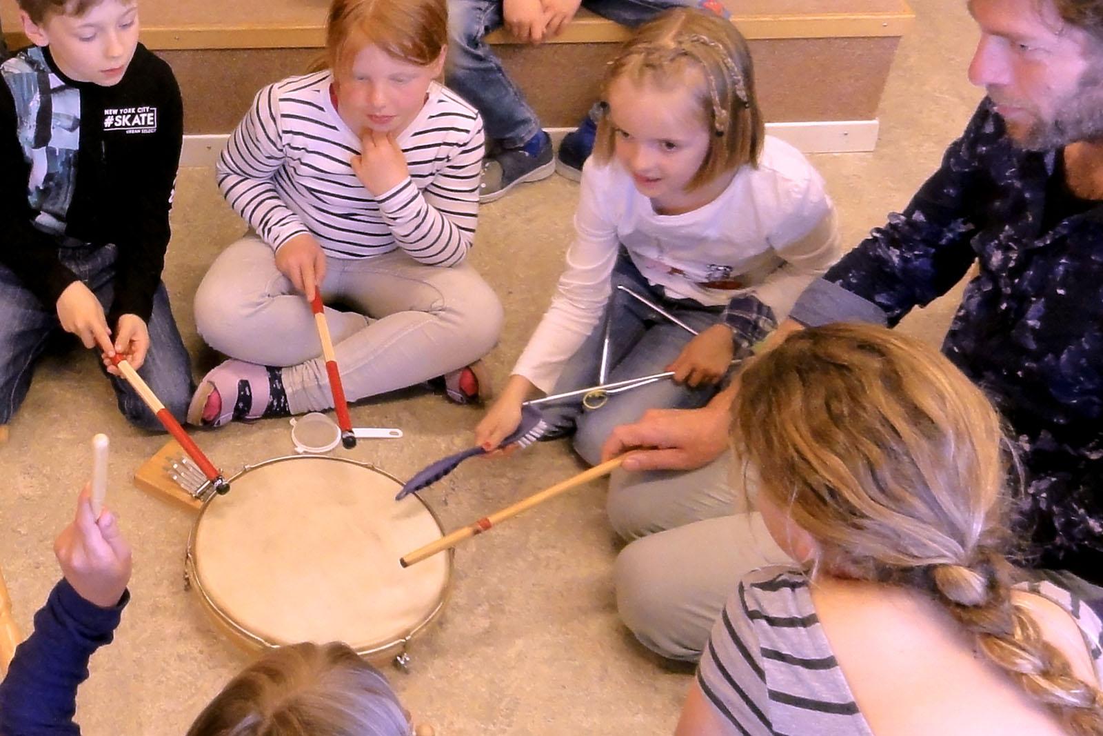 Gemeinsames Musizieren macht Spass