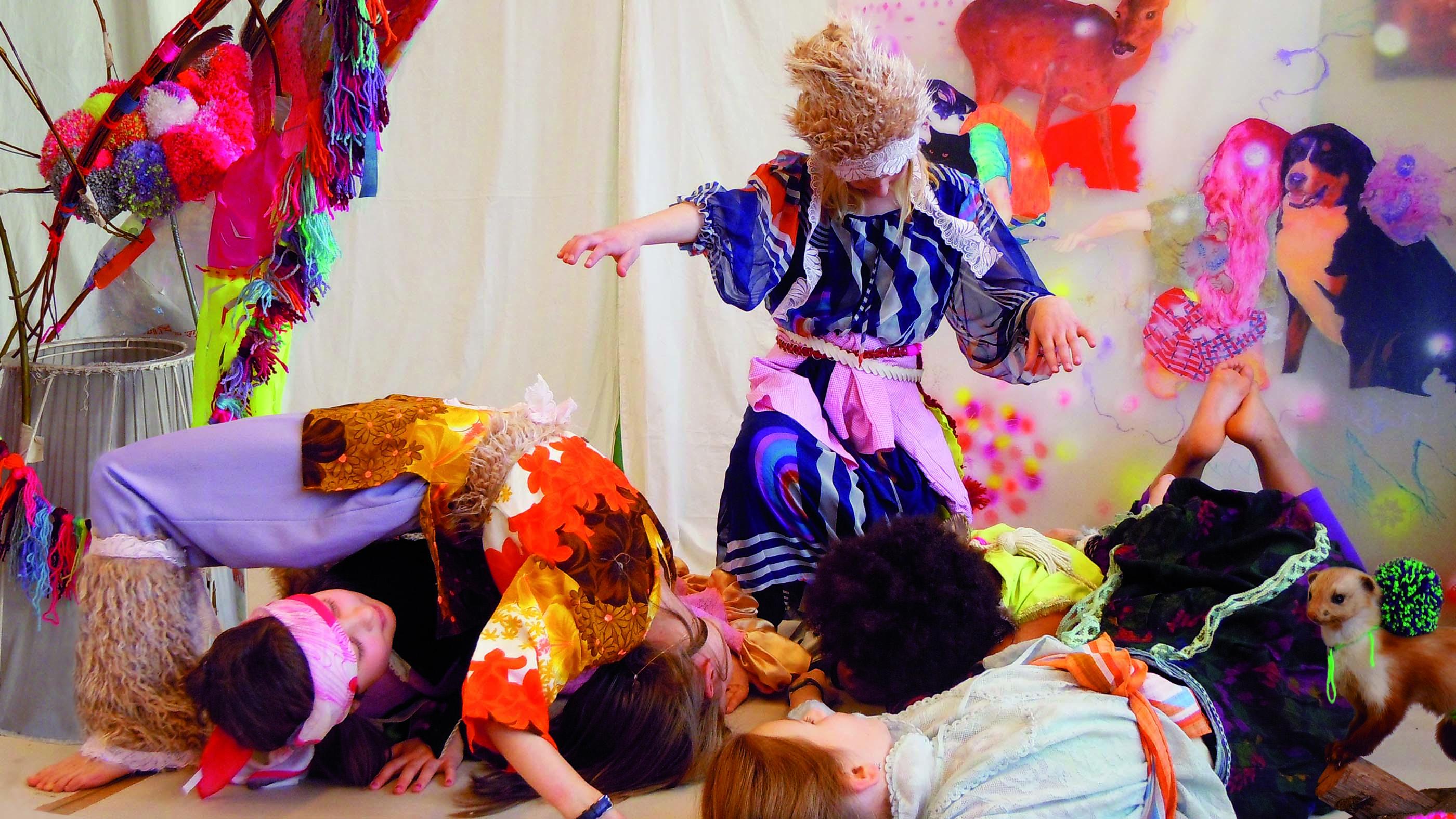 Projektfoto Artists in Residence an Schule