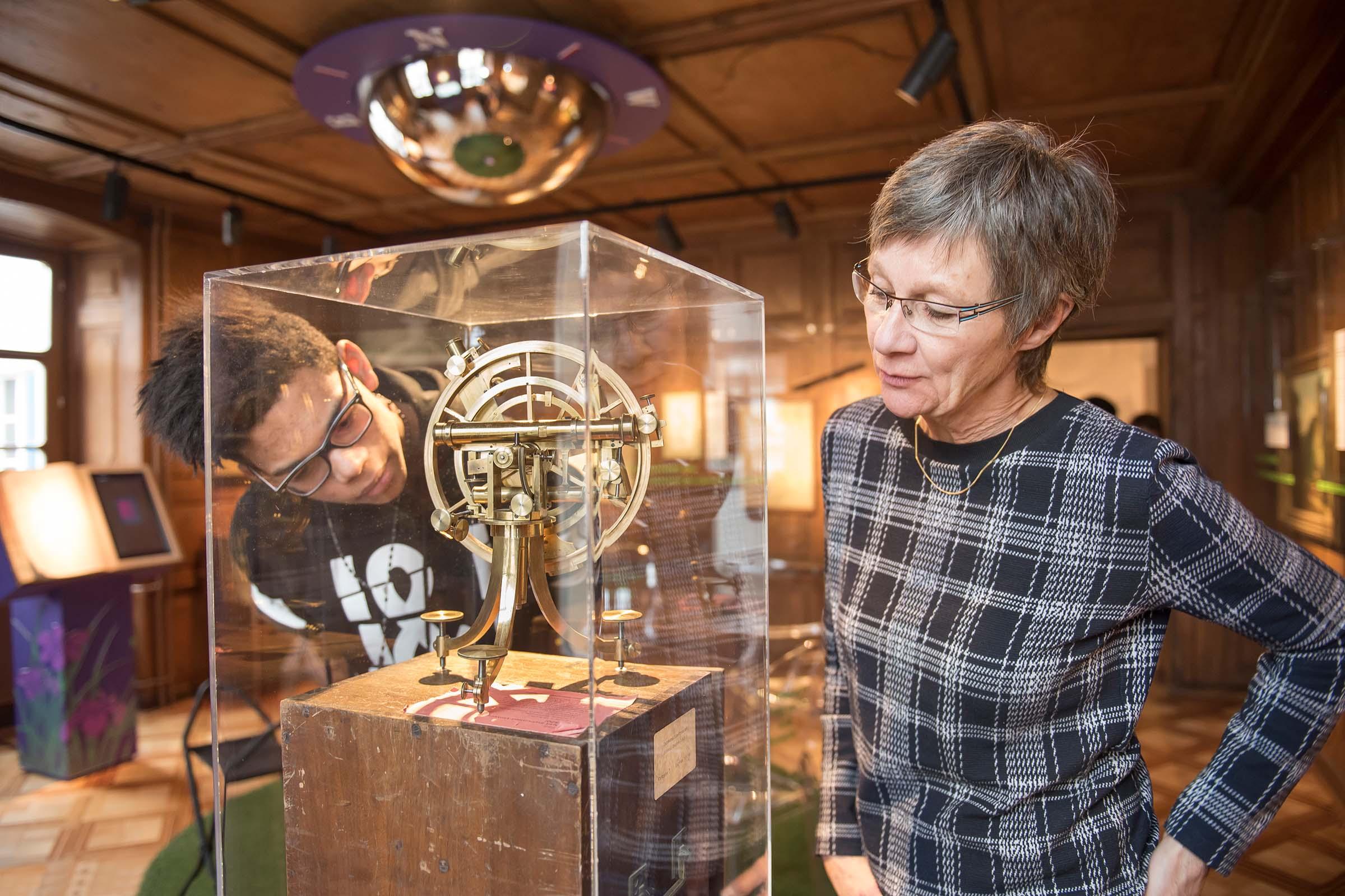 Tandem-Besuch im Musée jurassien d'art et d'histoire in Delémont
