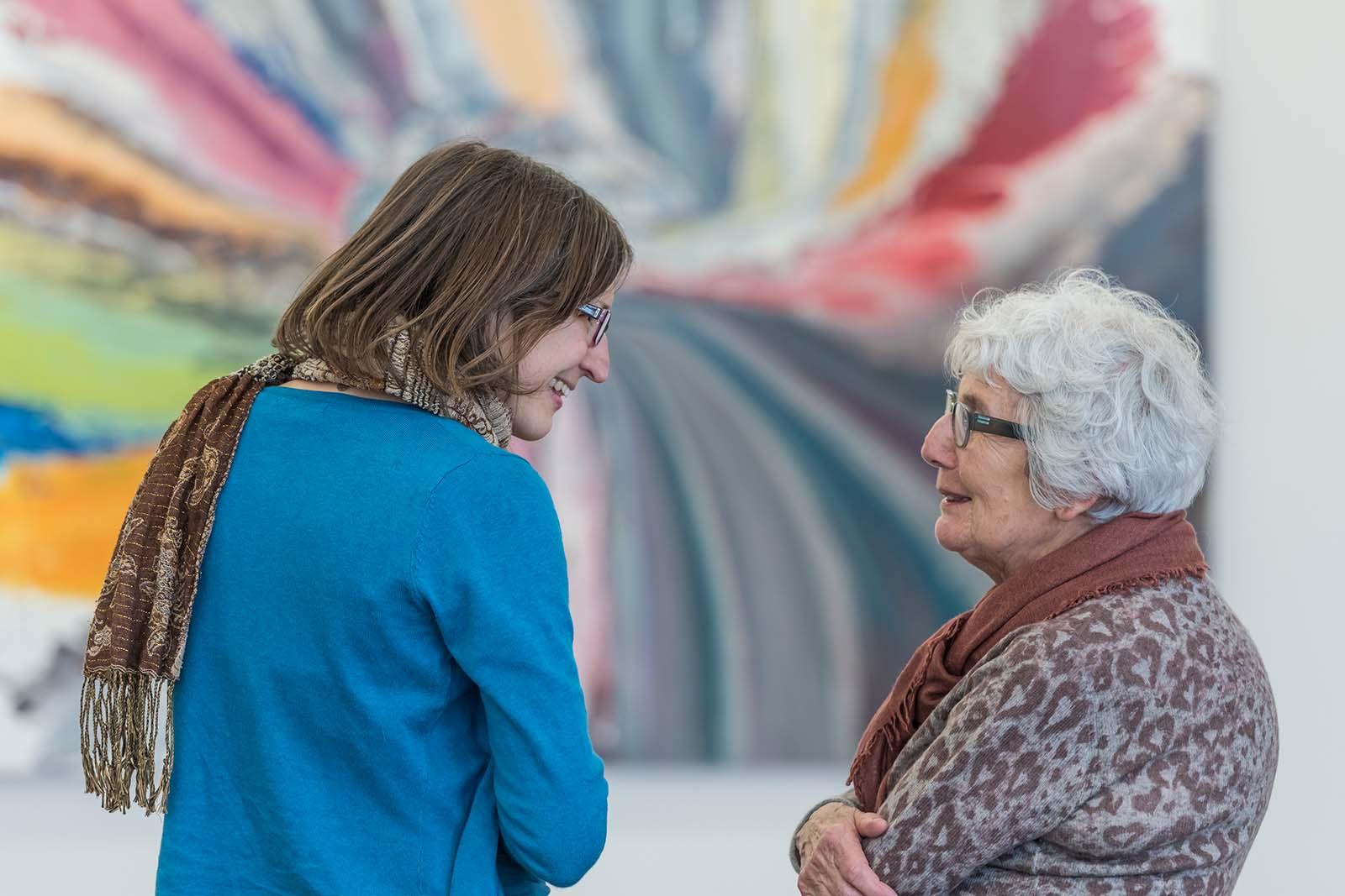Generationenbegegnung im Museum
